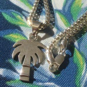 Palmetto (Palm) Tree w/ Lg.Box Chain - All SS